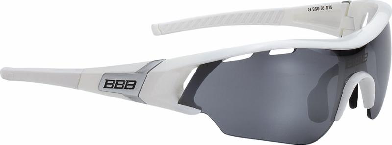 BBB Summit Sport/Freizeitbrille Bsg-50 Schwarz-Silber/Smoke bYBXJTjRP